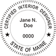 INTDESGN-ME - Interior Designer - Maine<br>INTDESGN-ME