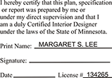 INTDESGN-MN - Interior Designer - Minnesota<br>INTDESGN-MN