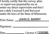 LANDSURV-MN - Land Surveyor - Minnesota<br>LANDSURV-MN