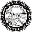 SS-MN - State Seal - Minnesota<br>SS-MN