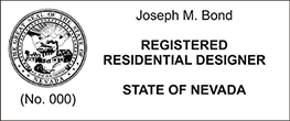 REGRESDESGN-NV - Registered Residential Designer - Nevada<br>REGRESDESGN-NV