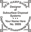 DESGNDISPOS-NH - Designer of Subsurface Disposal Systems - New Hampshire<br>DESGNDISPOS-NH