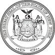 SS-NY - State Seal - New York<br>SS-NY