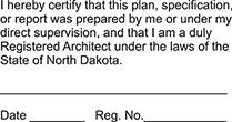 ARCH-ND - Architect - North Dakota<br>ARCH-ND