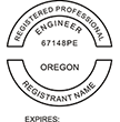 ENG-OR - Professional Engineer - Oregon<br>ENG-OR