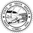 SS-SD - State Seal - South Dakota<br>SS-SD