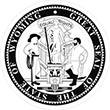 SS-WY - State Seal - Wyoming <br>SS-WY