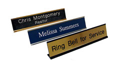 Desk Nameplates w/ Holder
