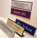 Wall & Desk Nameplates