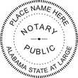 AL-NOT-SEAL - Alabama Notary Seal