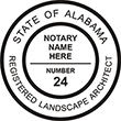 LSARCH-AL - Landscape Architect - Alabama<br>LSARCH-AL