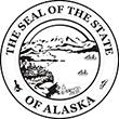 SS-AK - State Seal - Alaska<br>SS-AK
