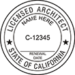 ARCH-CA - Architect - California<br>ARCH-CA