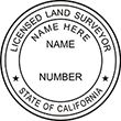 LANDSURV-CA - Land Surveyor - California<br>LANDSURV-CA