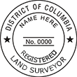 LANDSURV-DC - Land Surveyor - District of Columbia<br>LANDSURV-DC