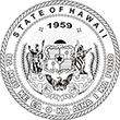 SS-HI - State Seal- Hawaii<br>SS-HI