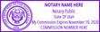 UT-NOT-1 - Utah Notary Stamp