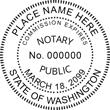 WA-NOT-SEAL - Washington Notary Seal