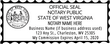 WV-NOT-2 - West Virginia Notary Stamp Business